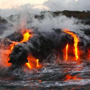 ハワイ島 マグマ