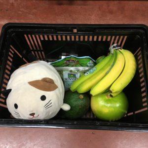ゴマと果物