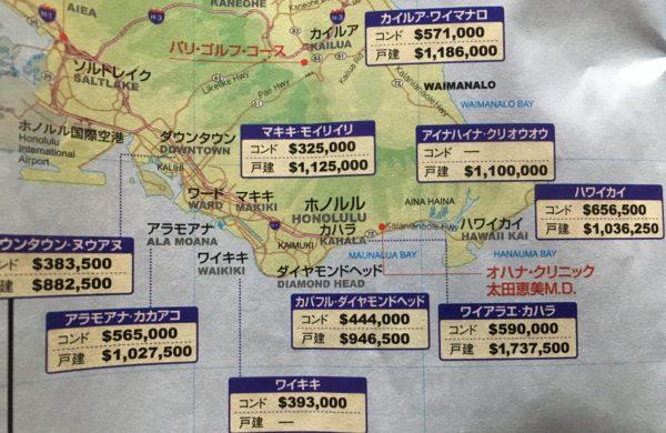 ハワイ中間取引価格