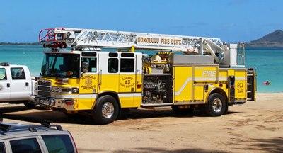 消防車,ハワイ