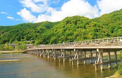 渡月橋,京都