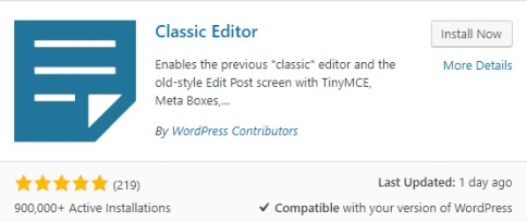 wordpress-classic