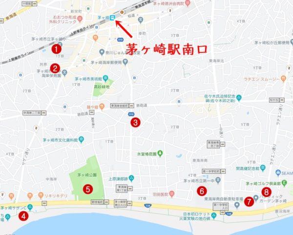 サザン,茅ヶ崎,聖地巡礼マップ