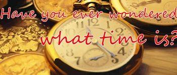 時間とは何