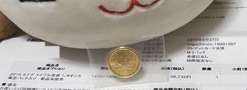 野口コイン,金貨