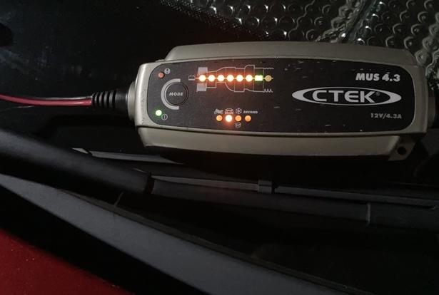 バッテリー,ctek